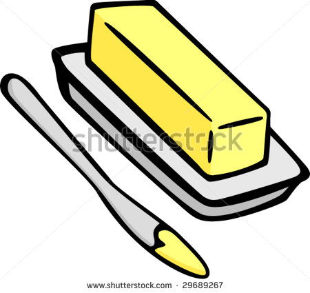 clipart royalty free library  clipartlook. Butter clipart