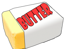 clip download Clip art free on. Butter clipart