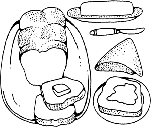 clip library Butter clipart animated. Bread and clip art.