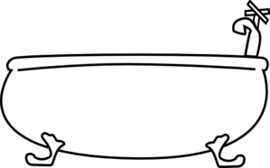graphic transparent stock Butter clipart black and white. Tub free on dumielauxepices.