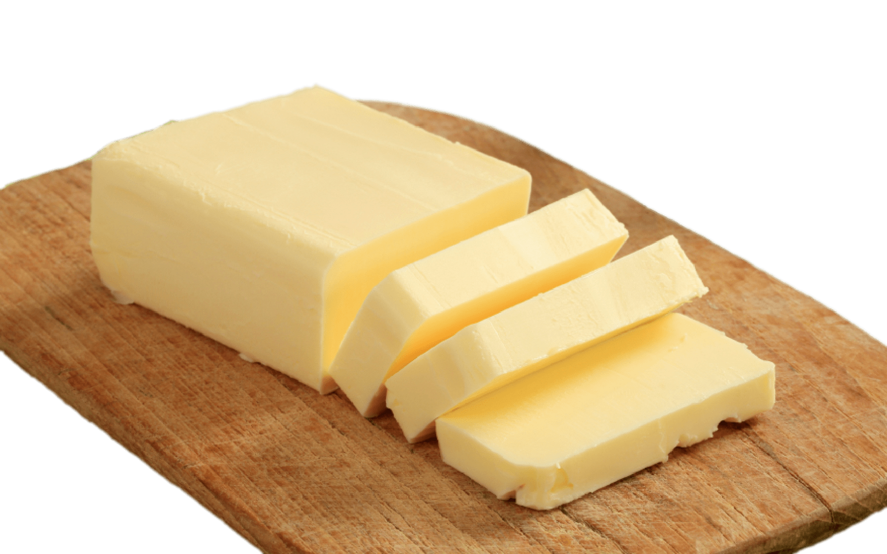 png transparent library Cube transparent cheese. Butter on wooden plank