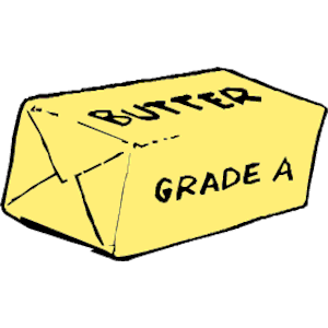 graphic transparent Butter stick clipart. Free no cliparts download.