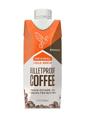 picture freeuse stock Bulletproof Coffee Cold Brew Original