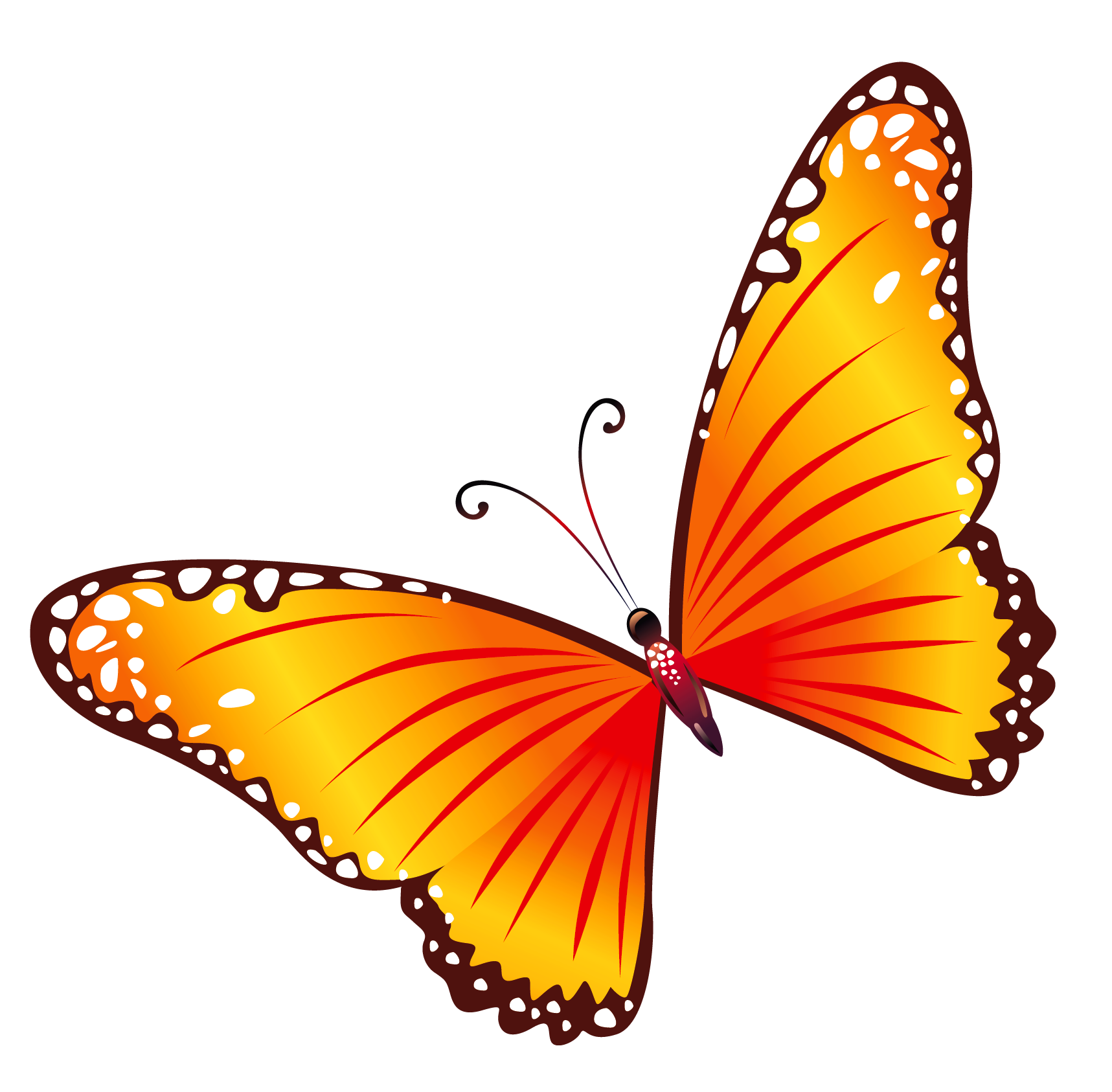 banner royalty free download Butterfly png mart. Butterflies clipart