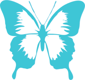graphic freeuse Butterfly Clipart Border