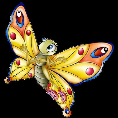 image royalty free stock News butterfly. Butterflies clipart cartoon.