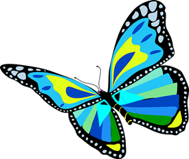picture royalty free Butterfly free on dumielauxepices. Butterflies clipart enchanted