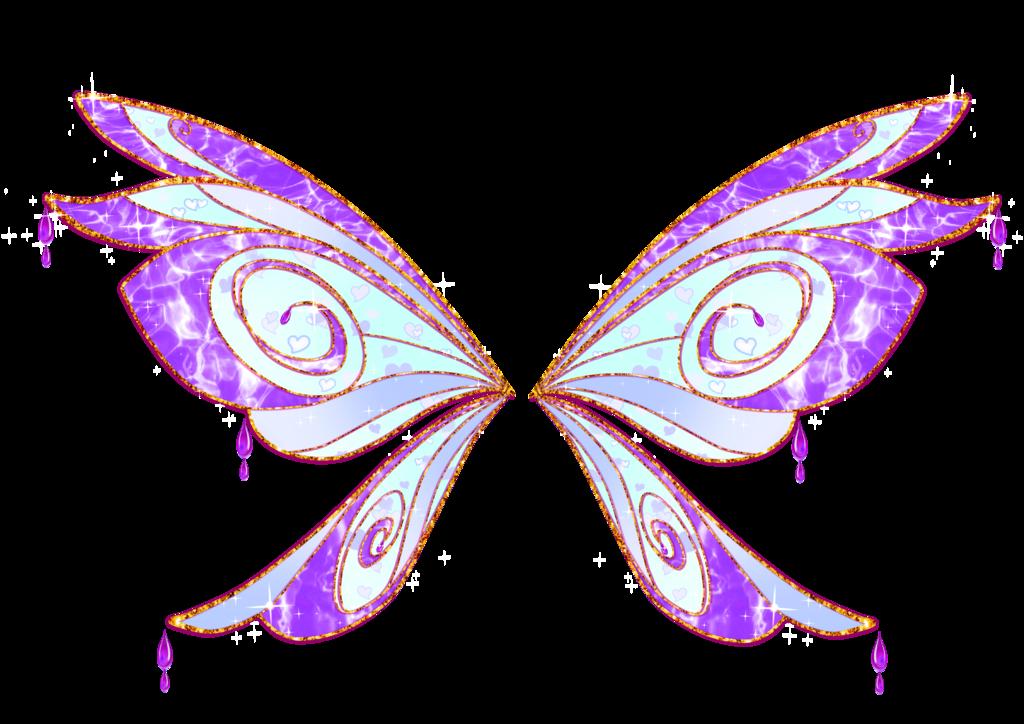 clip art free stock Butterflies clipart enchanted. Com serena bloomix wings