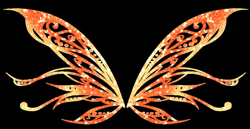 clip stock Butterflies clipart enchanted. Serienya butterflix wings by