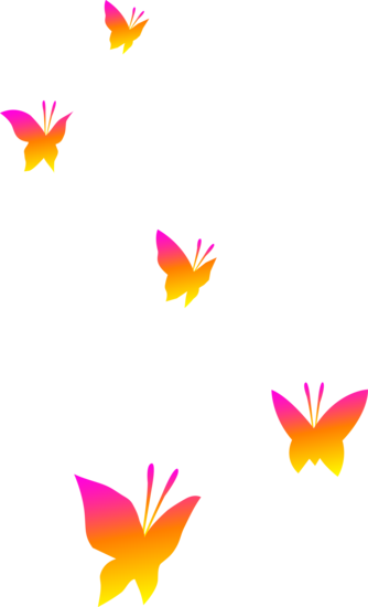 svg freeuse stock On transparent background iphone. Butterflies clipart orange.