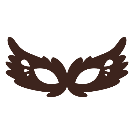 png library stock Fancy halloween cat mask silhouette