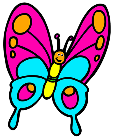 vector transparent . Butterfly clipart.