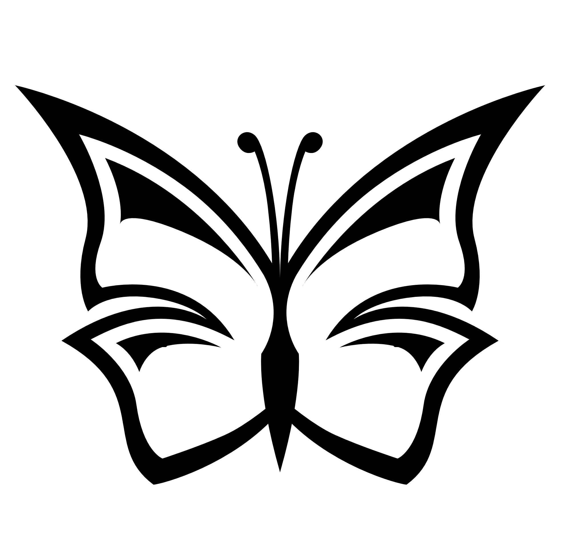 free library Black and white jrcgxetl. Butterfly clipart bunch.