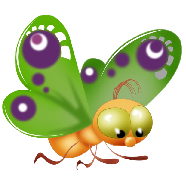 graphic transparent stock Butterfly clipart kawaii. Baby cartoon clip art.