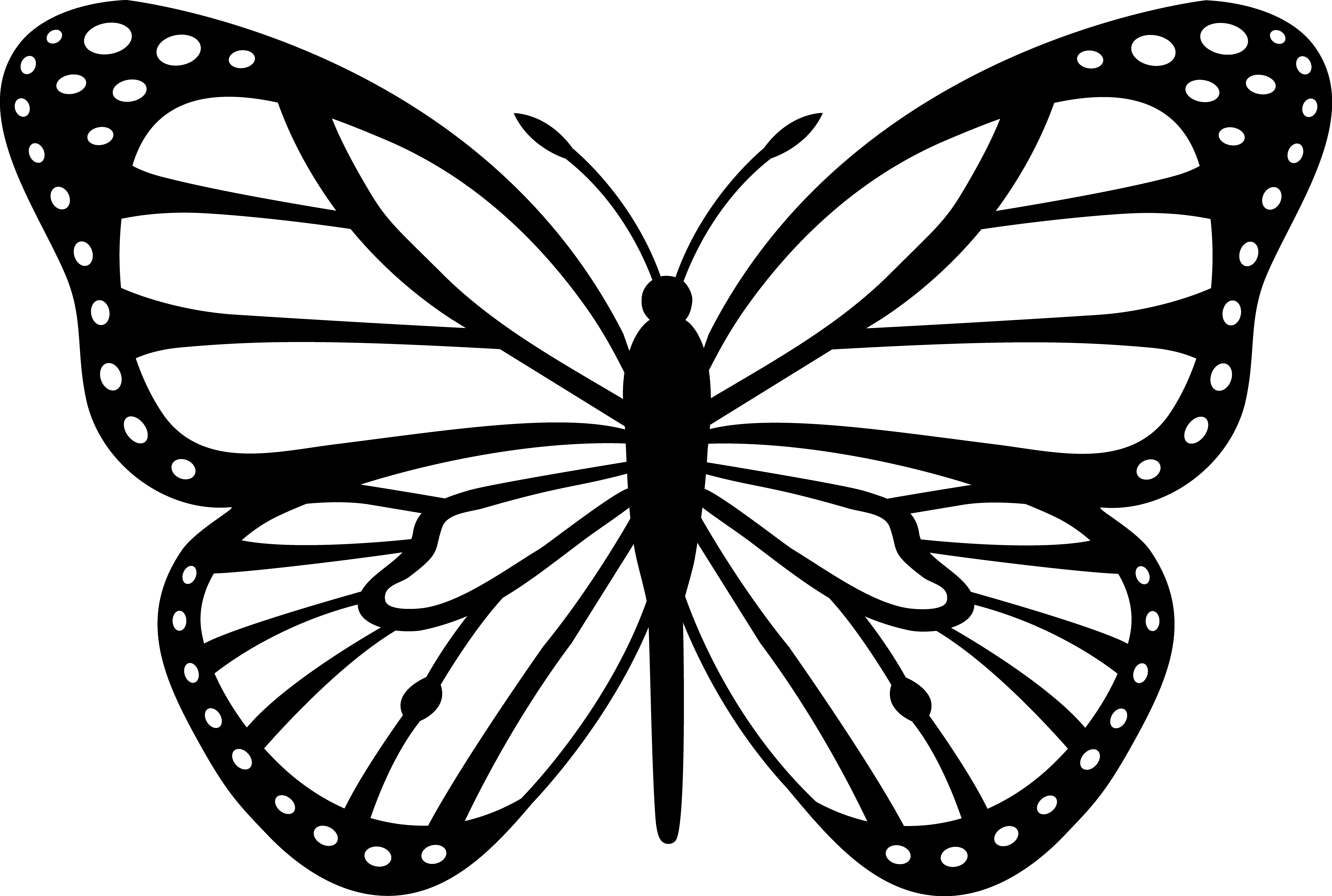 graphic freeuse library Purple Butterfly Clip Art