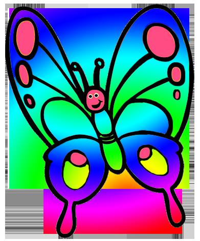 vector free S pinterest clip art. Butterfly clipart.