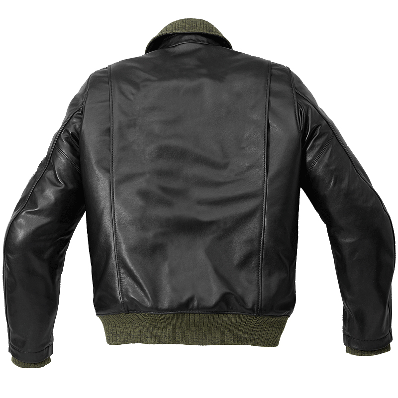 black and white library Tank Leather Jacket