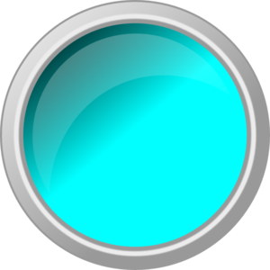 picture freeuse stock Blue Push Button Clipart