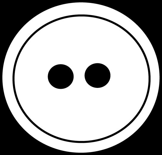 clip art black and white stock Button clipart black and white. Clip art image