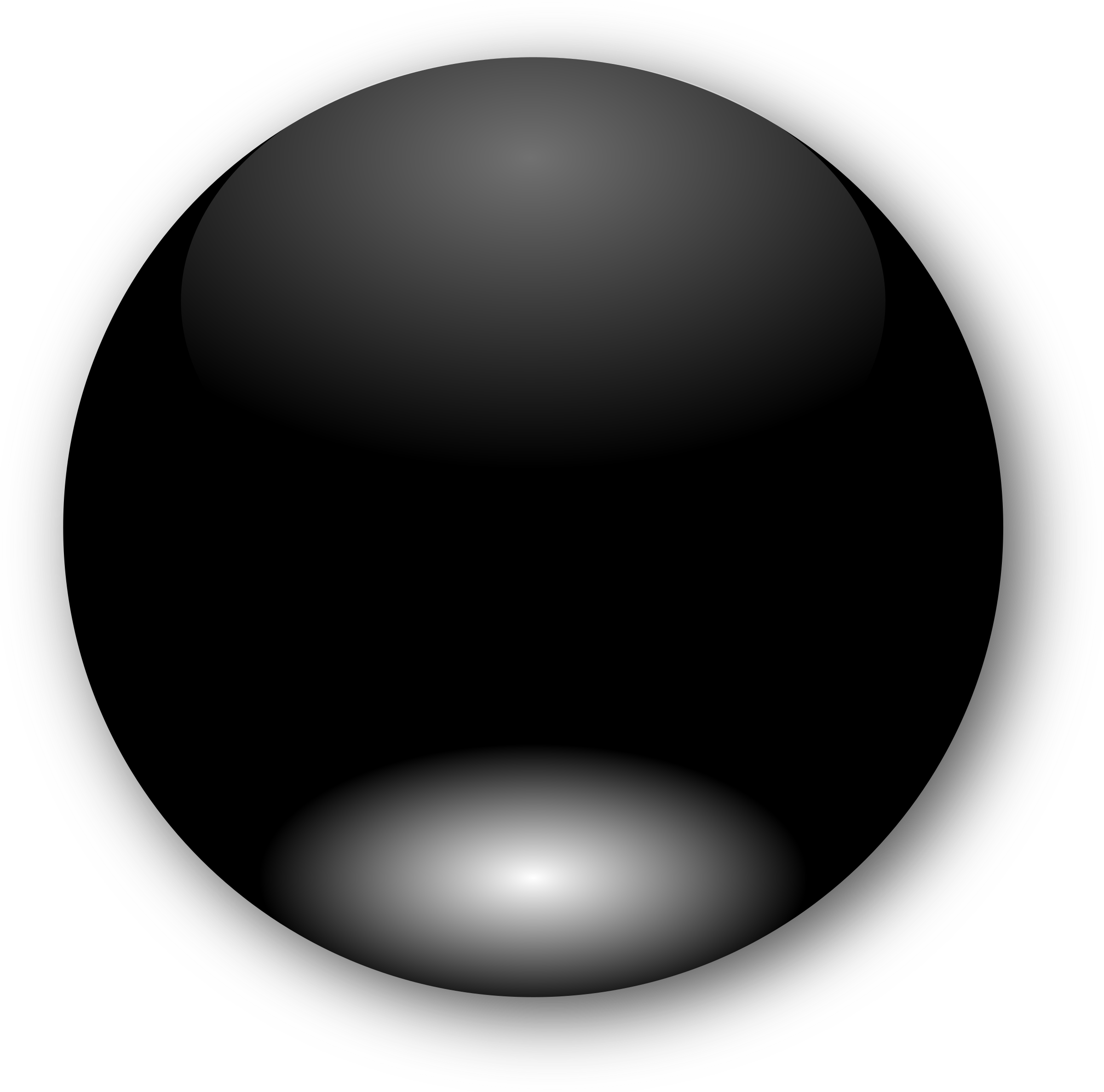 jpg black and white download Round black big image. Button clipart different shape.