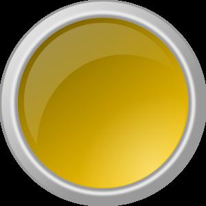 clip art transparent Button clipart round glass. Glossy yellow clip art.