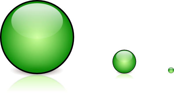 clip art library library Green glassbutton with shadow. Button clipart round glass.