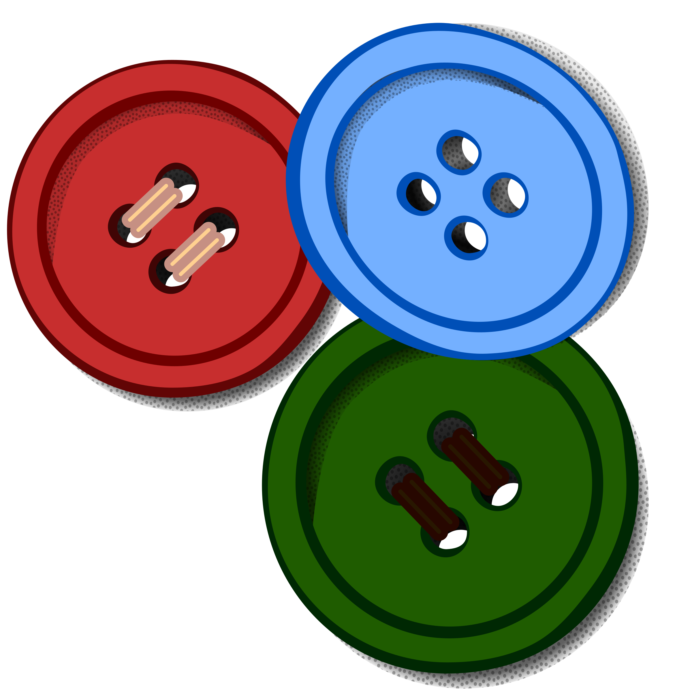 png transparent download Buttons coloured big image. Button clipart.