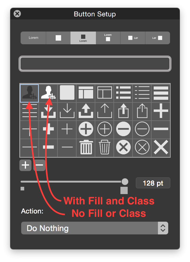 free library FileMaker Custom Button Icons
