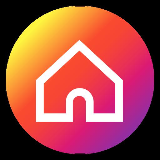 vector freeuse download Vector button transparent. Instagram home png svg