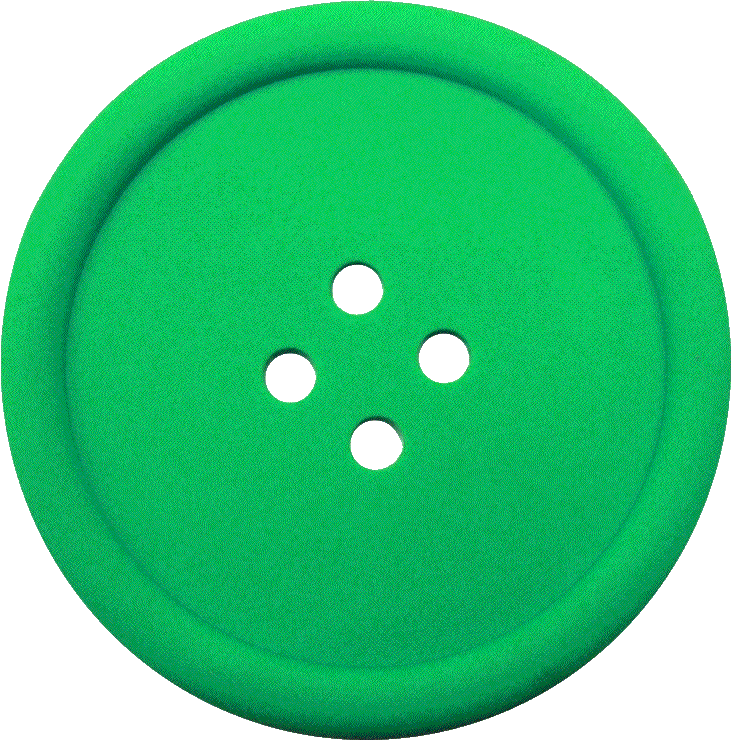 clipart library library Buttons clipart sewing button. Greeen with hole png
