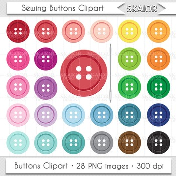graphic download Clip art rainbow color. Buttons clipart sewing button