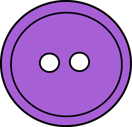 vector free Buttons clipart sewing button. Purple who s got
