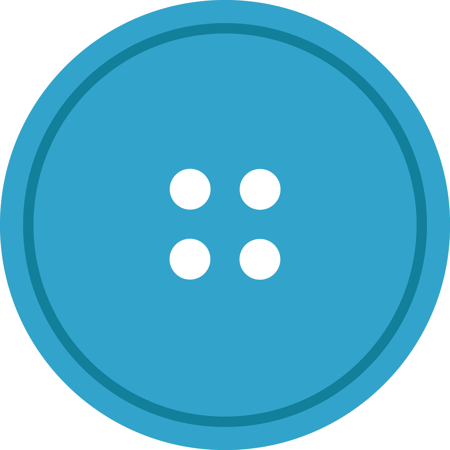 jpg freeuse Blue round cloth with. Buttons clipart sewing button