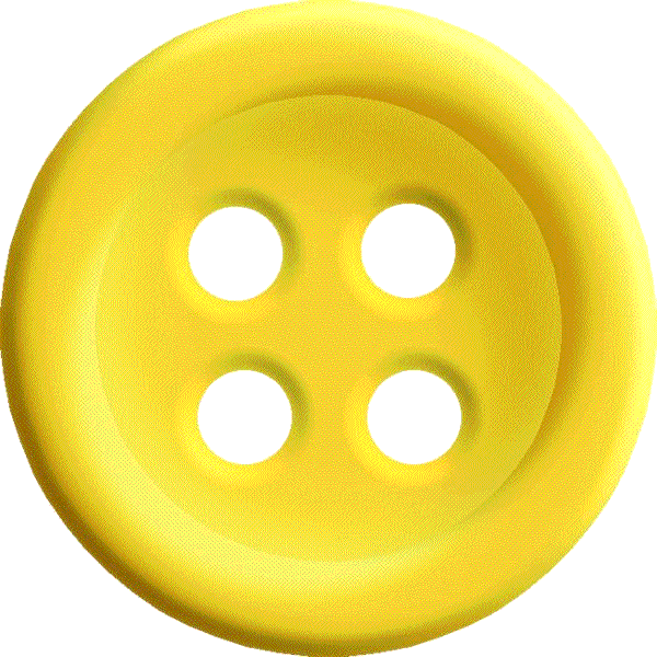 picture library library Sewing with hole png. Buttons clipart yellow button.