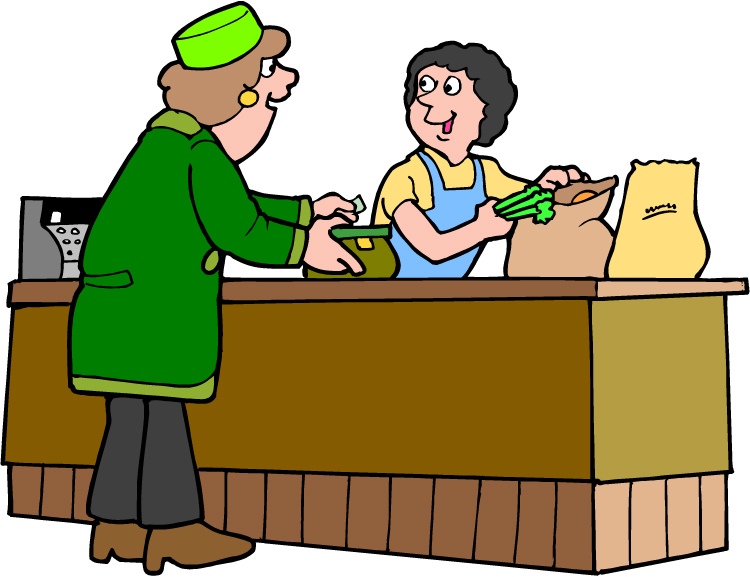 clip freeuse library Supermarket clipart counter. Grocery store checkout clip.