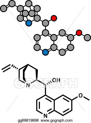 jpg freeuse download Vector art quinine malaria. Buy clipart conventional.