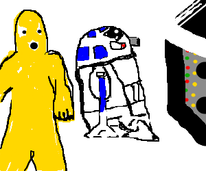 png free stock C p and r. C3p0 drawing