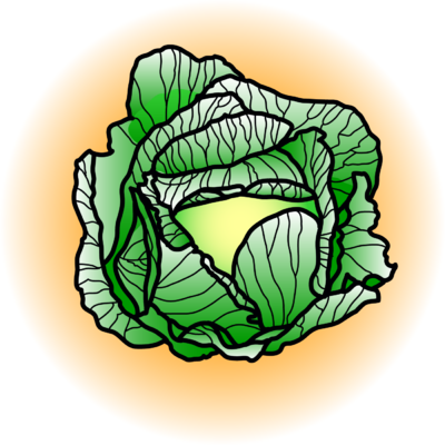 graphic royalty free library Cabbage clipart. Image food clip art