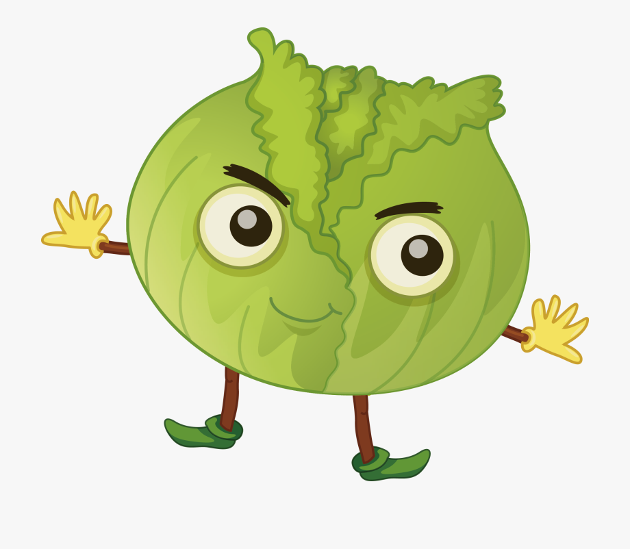 clip library stock Fruit clip art cartoon. Cabbage clipart animated.
