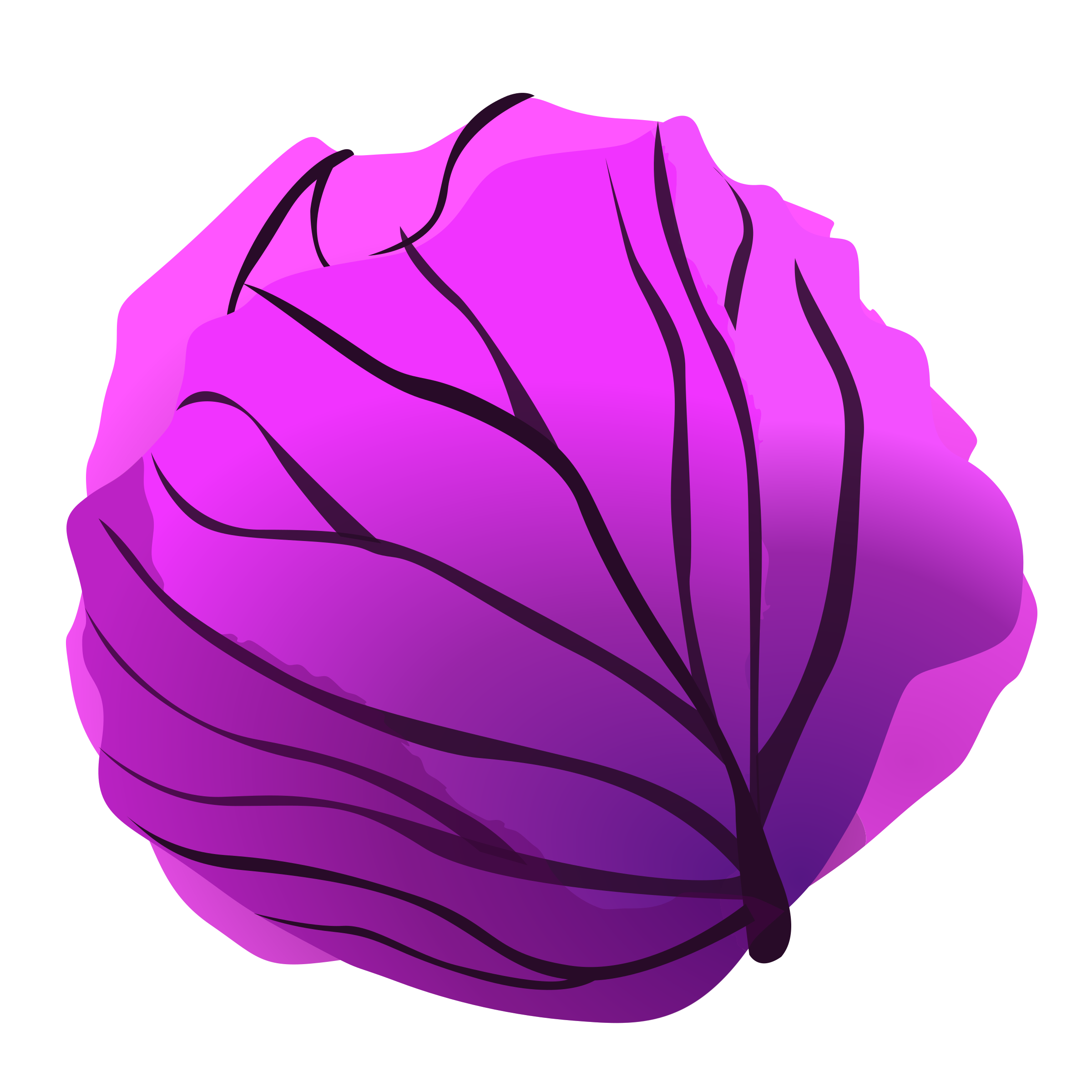 png transparent library Red big image png. Cabbage clipart animated.
