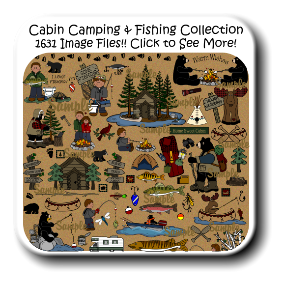 jpg library download Cabin camping clipart. Free printable book report.