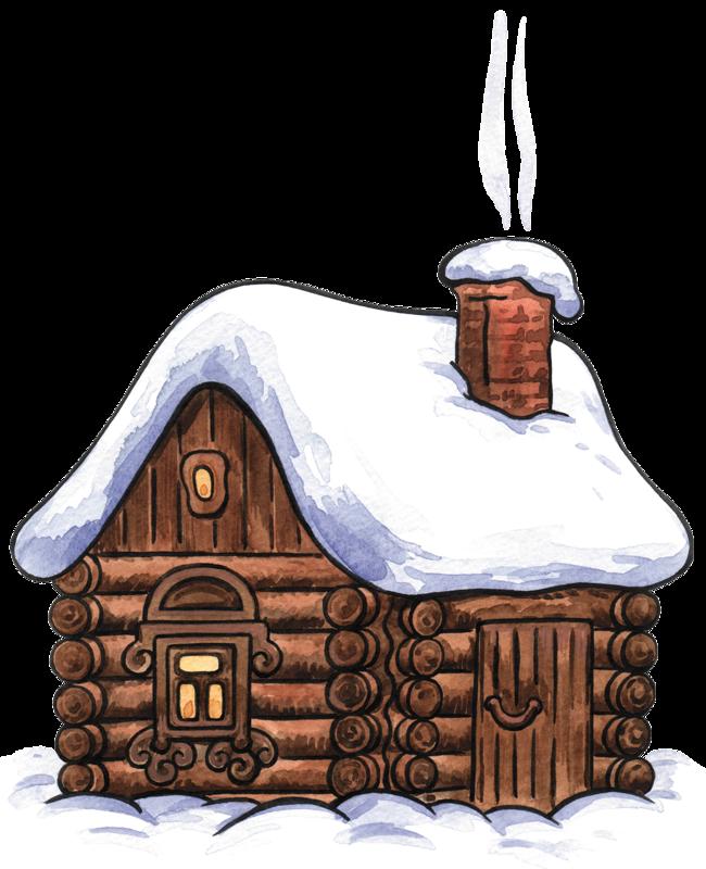 clip art free download Yard clipart cute cottage. Winter cabin clip art