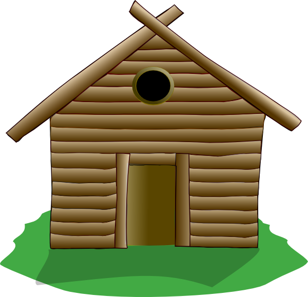 clip library download Cabin clipart rickety. Cottage free on dumielauxepices.