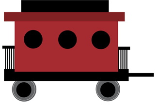 picture download Free download clip art. Caboose clipart.