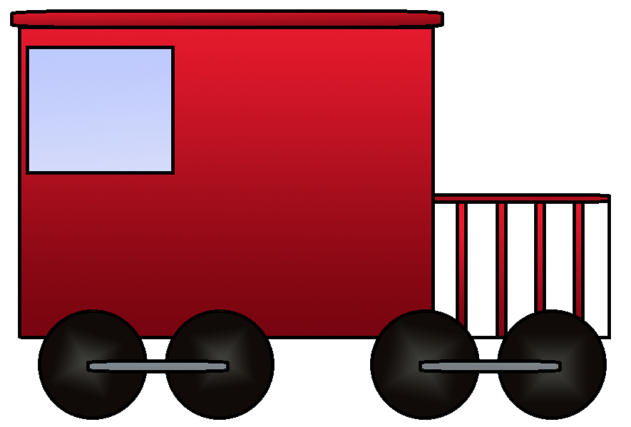 png download Train . Caboose clipart