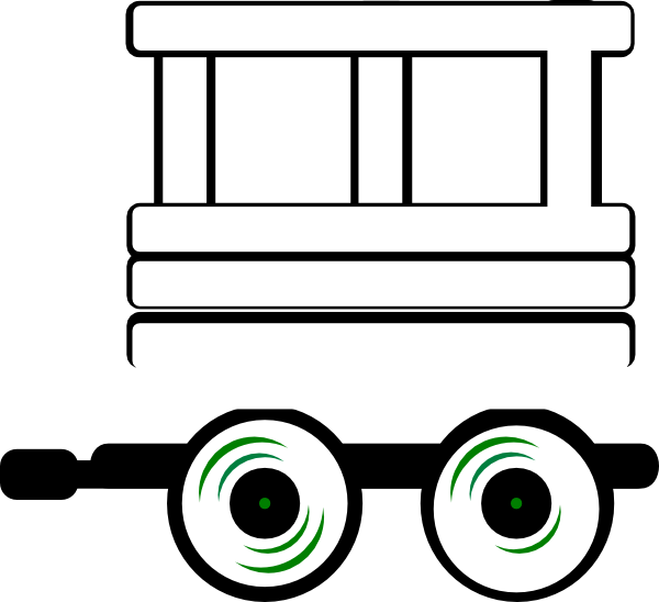clip freeuse library Cloud clipart train. Engine and caboose panda.