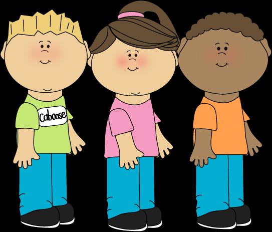 image transparent download Classroom job clip art. Kids in line clipart