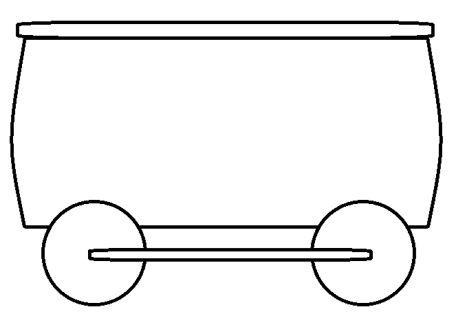 picture freeuse download Clip art best for. Caboose clipart train cart.
