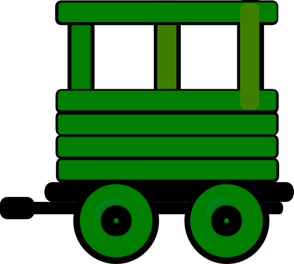 picture stock Silhouette clip art at. Caboose clipart train cart.