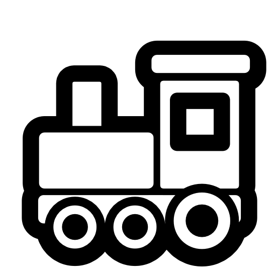 clip freeuse stock Train Engine And Caboose Clipart